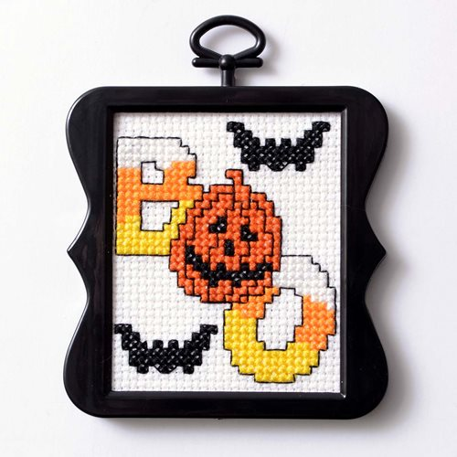 Free Halloween Cross-Stitch Pattern