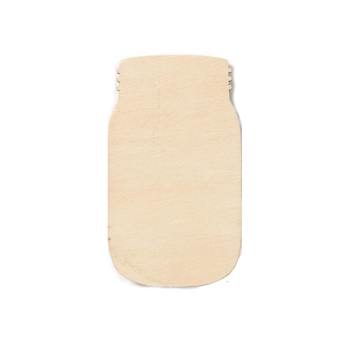 Plaid ® Wood Surfaces - Unpainted Shapes - Jar - 98952