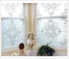 Romatic Homes Bathroom Windows