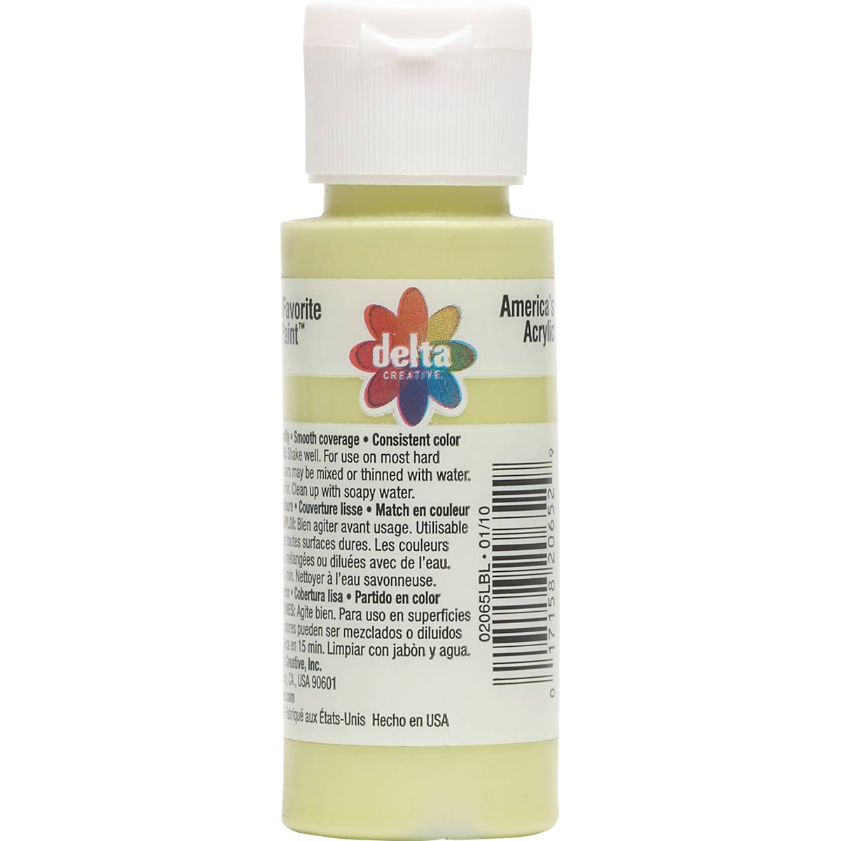 Delta Ceramcoat ® Acrylic Paint - Apple Green, 2 oz.