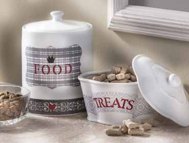 DIY Customized Pet Food Containers
