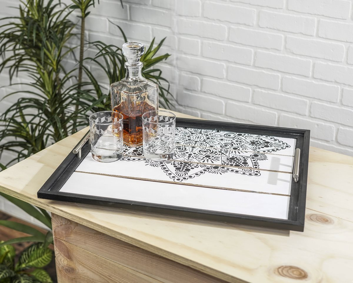 Upcycled Picture Frame Tray