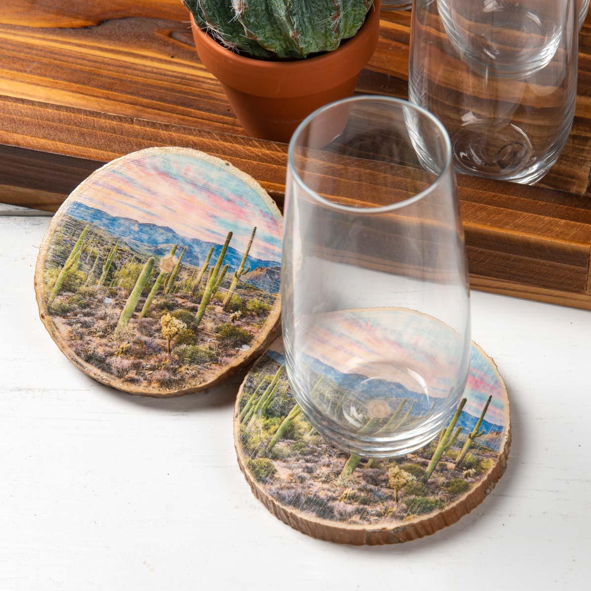 Western Photo Transfer Coasters