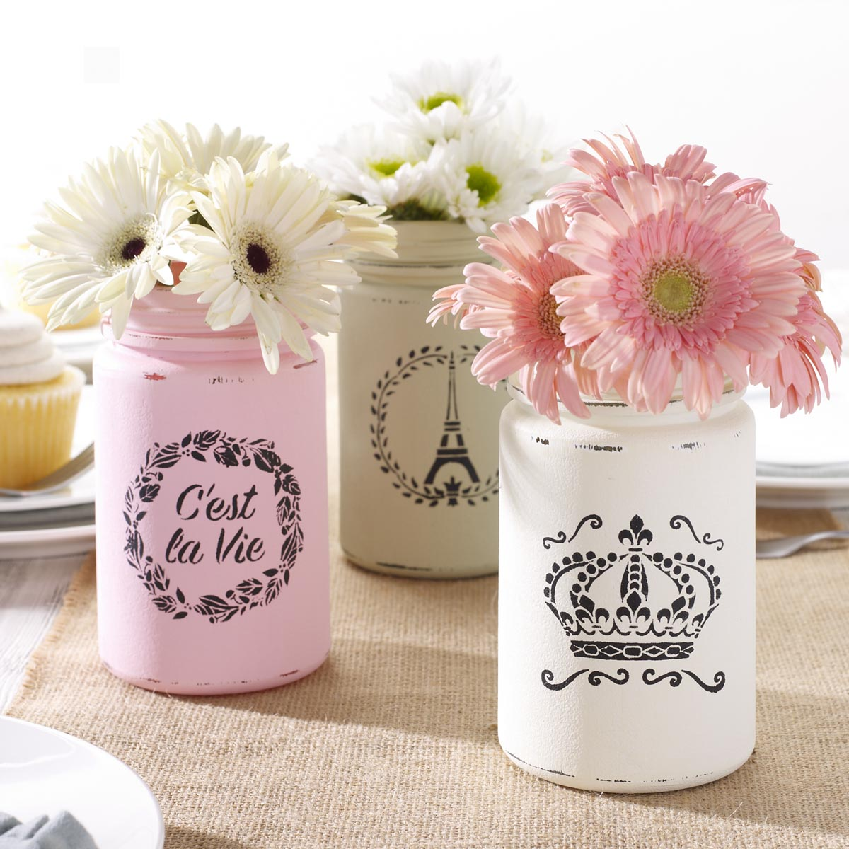FolkArt ® Painting Stencils - Mini - French Crown