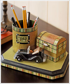 Father's Day Desk Organizer