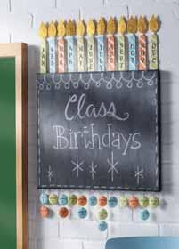 Classroom Birthdays Sign