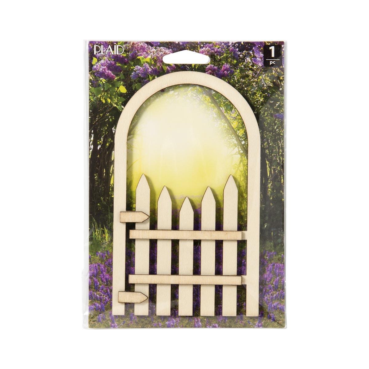 Plaid ® Wood Surfaces - Fairy Garden - Fence Gate