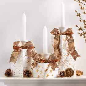 Glitzy Candle Holder Packages