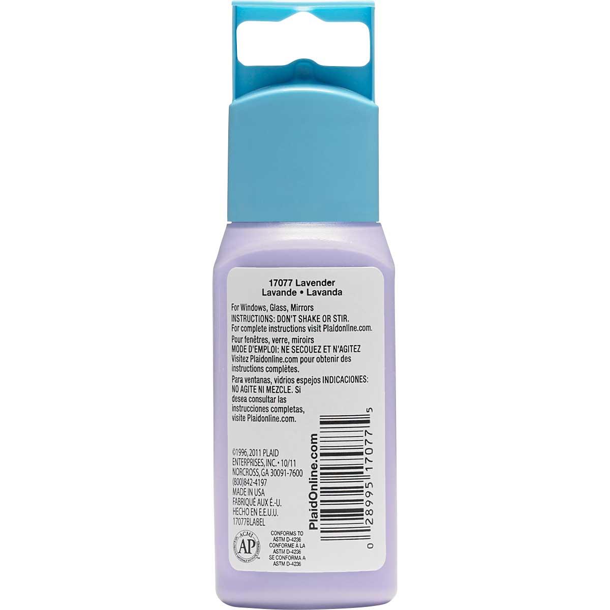 Gallery Glass ® Window Color™ - Lavender, 2 oz.