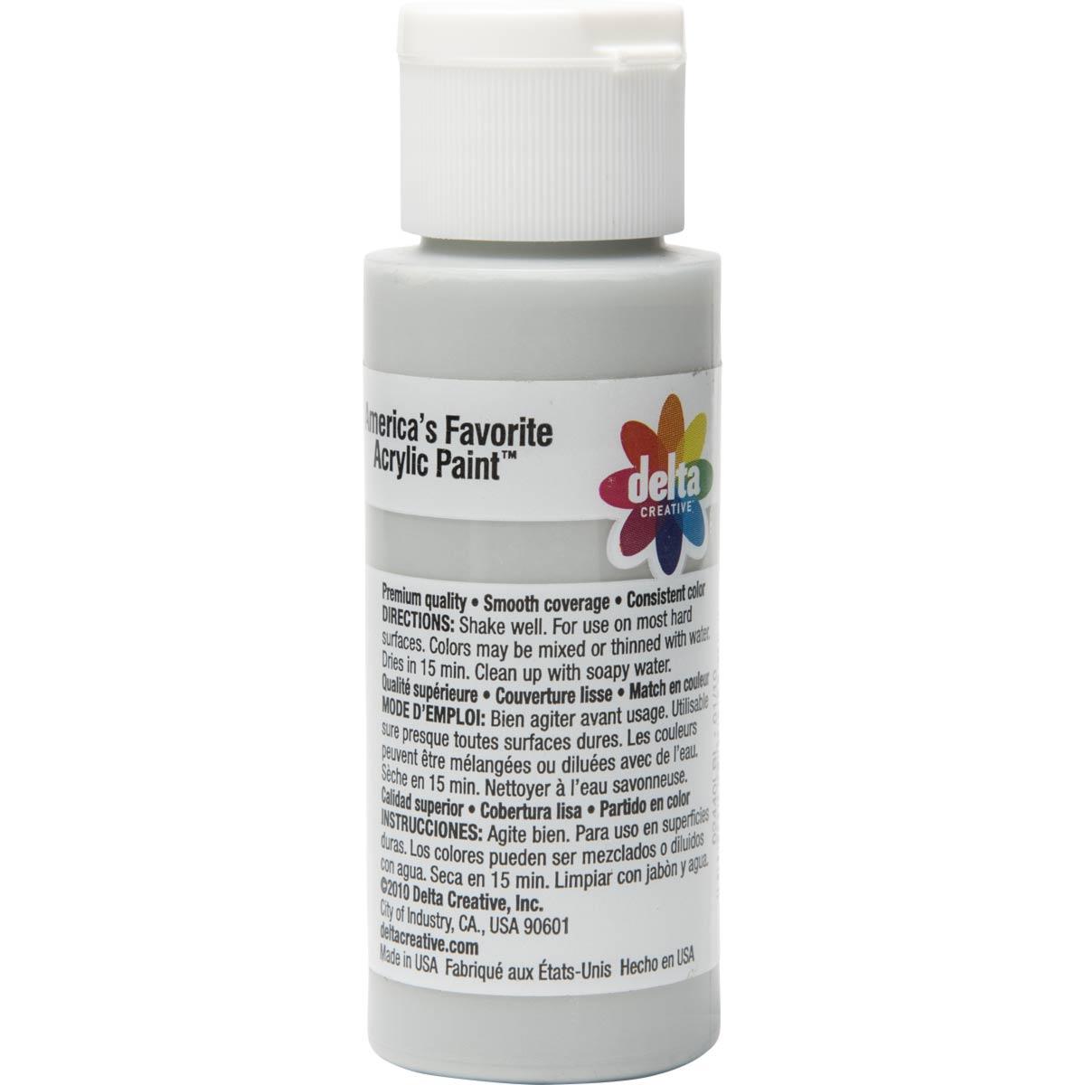 Delta Ceramcoat Acrylic Paint - Bridgeport Grey, 2 oz. - 024400202W