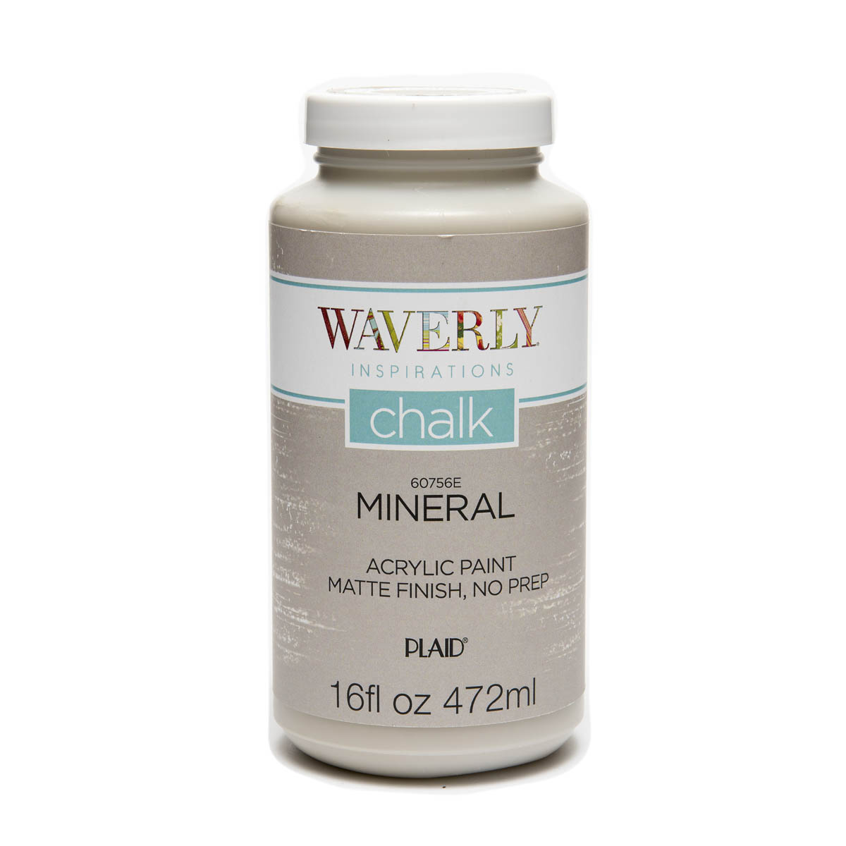 Waverly ® Inspirations Chalk Finish Acrylic Paint - Mineral, 16 oz. - 60756E