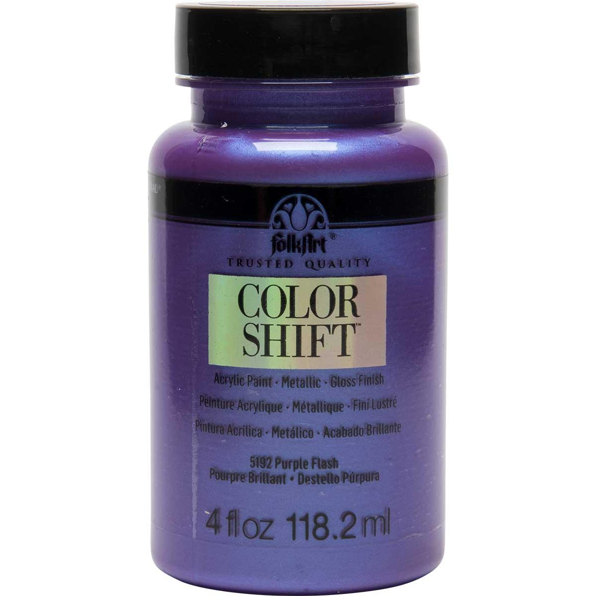 FolkArt ® Color Shift™ Acrylic Paint - Purple Flash, 4 oz.