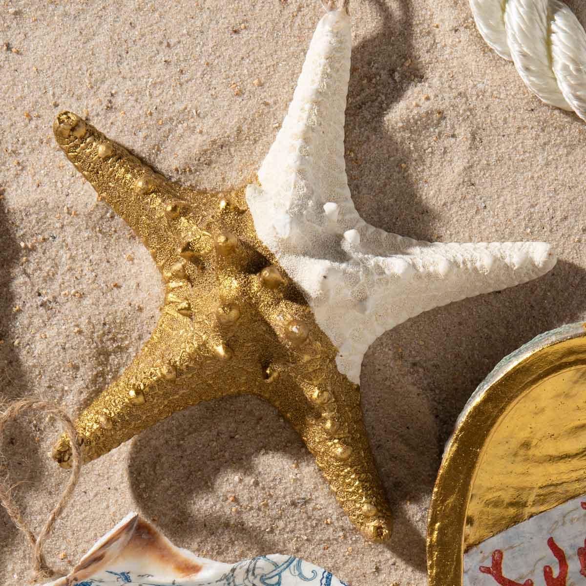 Beachy Ornaments DIY Idea