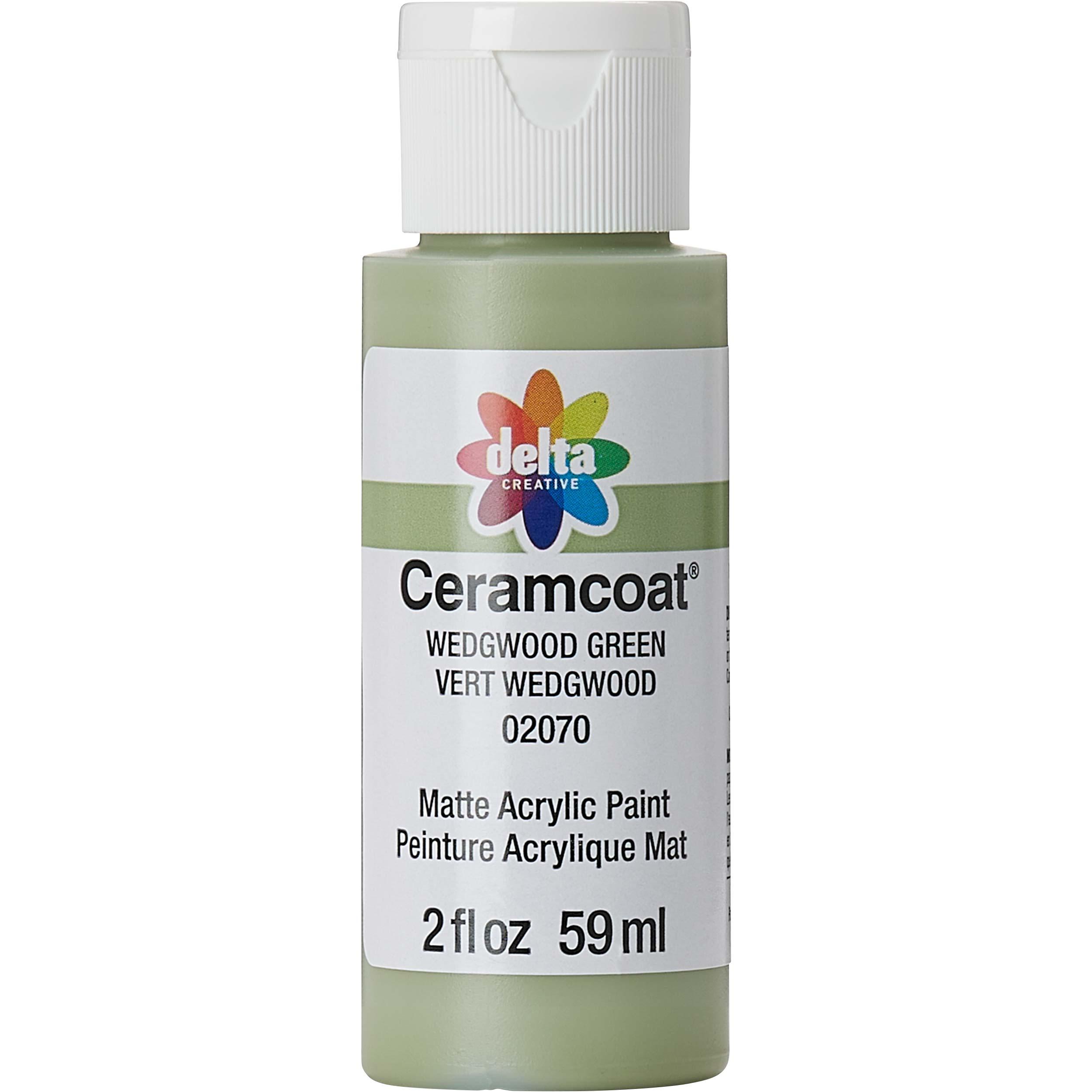 Delta Ceramcoat ® Acrylic Paint - Wedgewood Green, 2 oz.