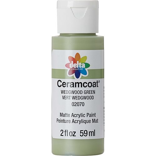 Delta Ceramcoat ® Acrylic Paint - Wedgwood Green, 2 oz.