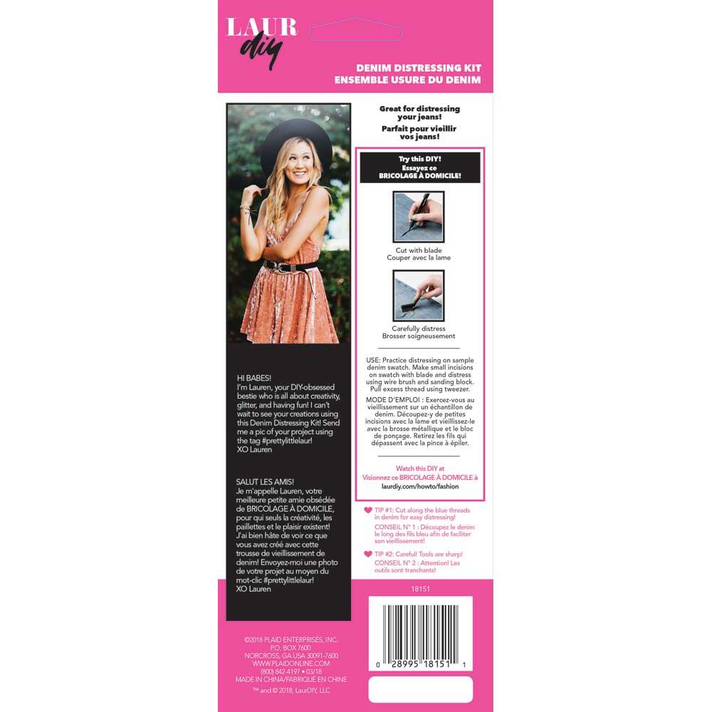 LaurDIY ® Accessories - Denim Distressing Kit