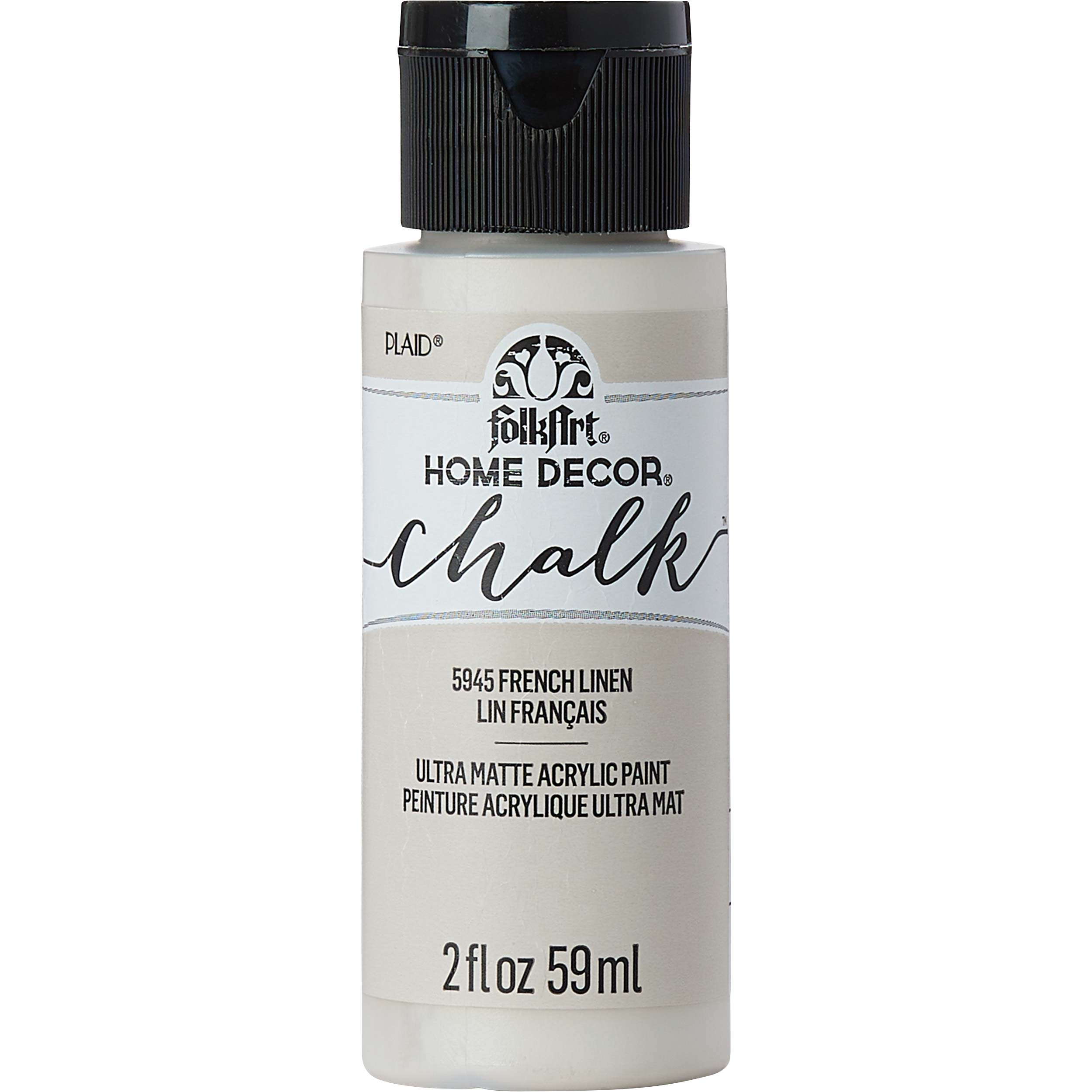 FolkArt ® Home Decor™ Chalk - French Linen, 2 oz. - 5945