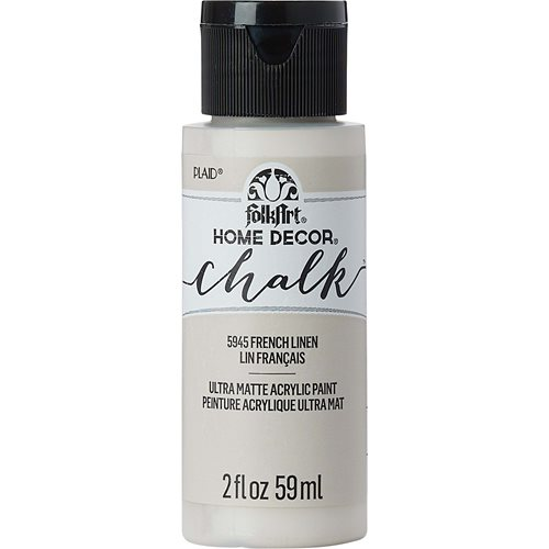 FolkArt ® Home Decor™ Chalk - French Linen, 2 oz.