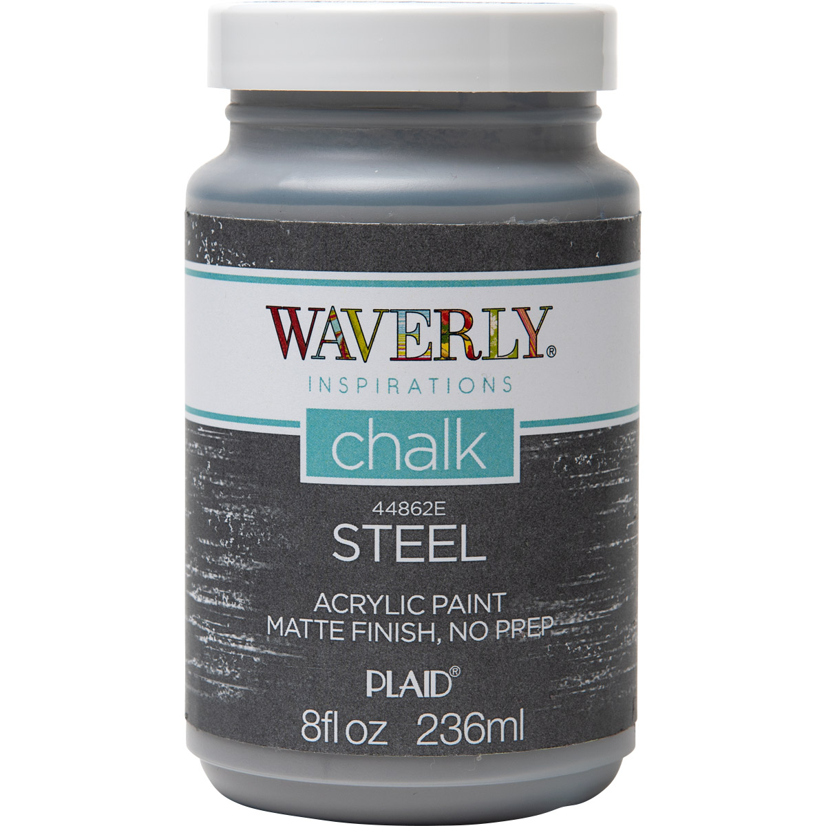 Waverly ® Inspirations Chalk Finish Acrylic Paint - Steel, 8 oz.