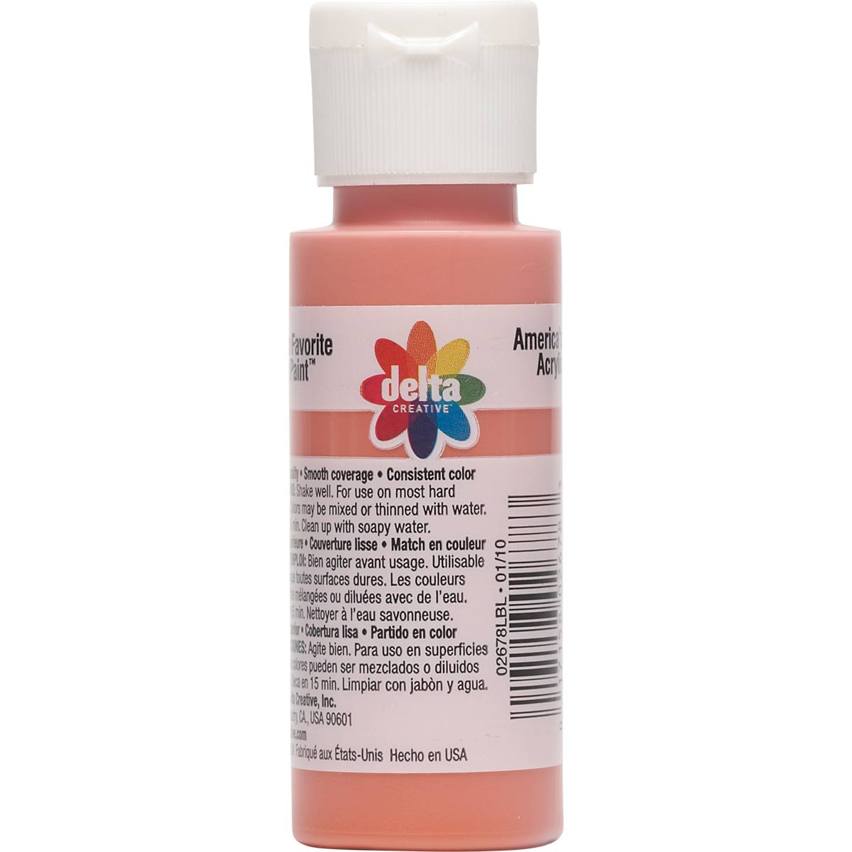 Delta Ceramcoat ® Acrylic Paint - Deep Sea Coral, 2 oz. - 026780202W