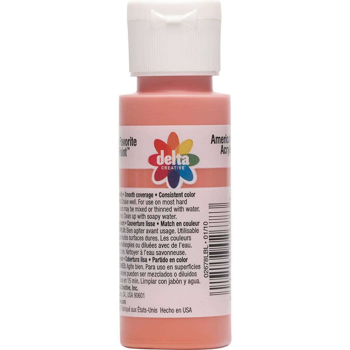 Delta Ceramcoat ® Acrylic Paint - Deep Sea Coral, 2 oz.
