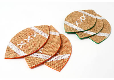 Super Football Party Coasters
