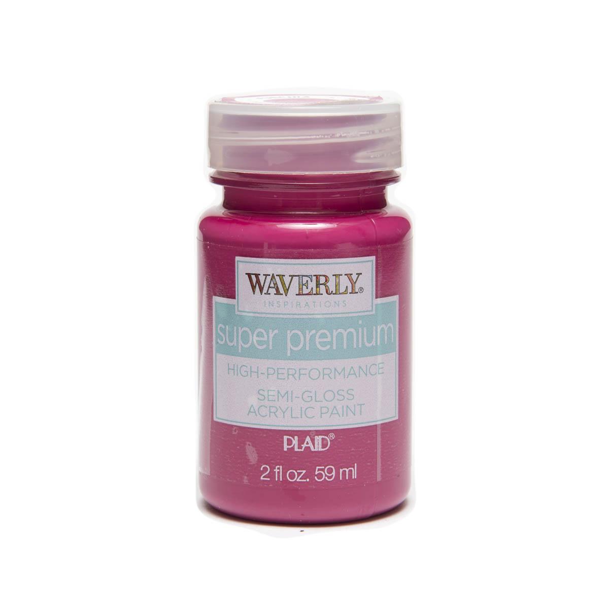 Waverly ® Inspirations Super Premium Semi-Gloss Acrylic Paint - Fuchsia, 2 oz.