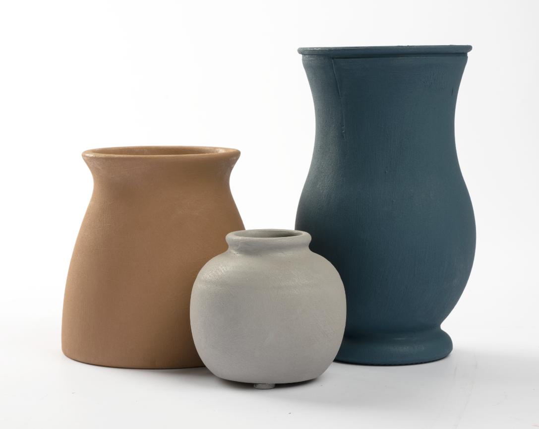 Upcycled Terra Cotta Vases & Pots