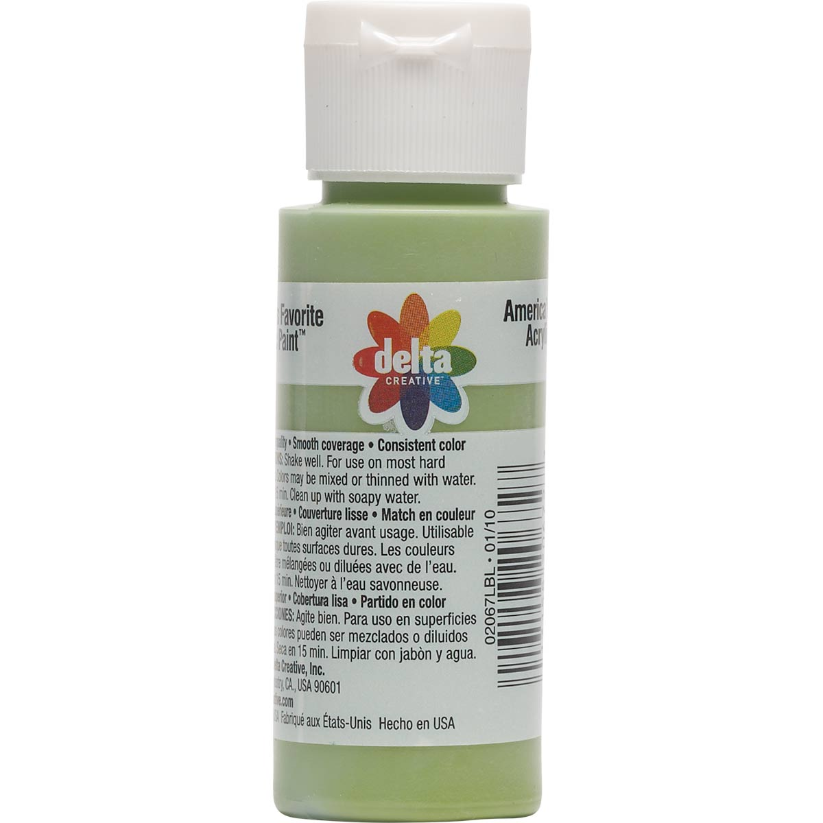 Delta Ceramcoat ® Acrylic Paint - Leaf Green, 2 oz.