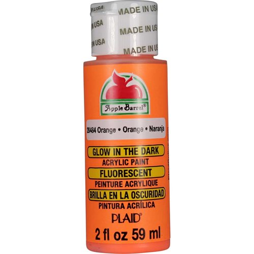 Apple Barrel ® Gloss™ - Glow-In-The-Dark Orange, 2 oz.