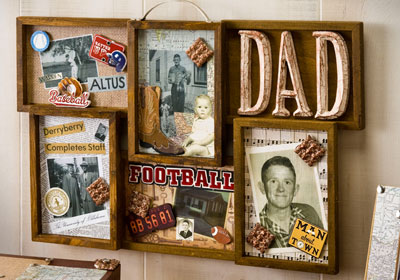 Collage Frame Father's Day