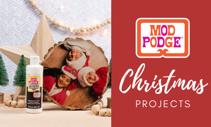 Mod Podge Christmas Projects