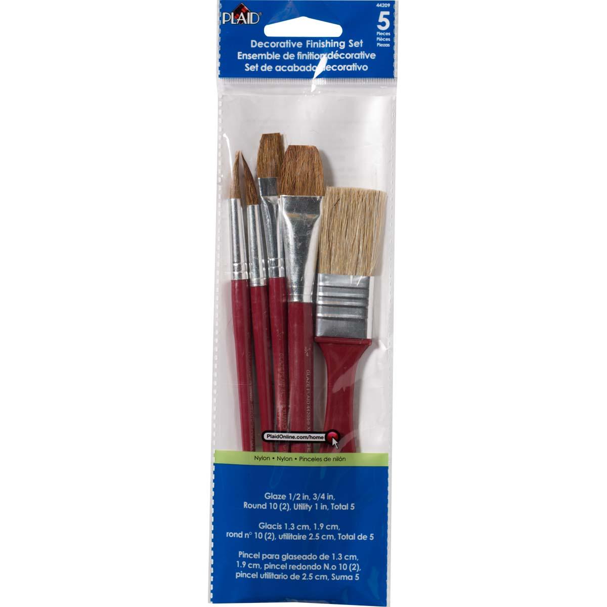 Plaid ® Brush Sets - Decorative Finishing - 44209