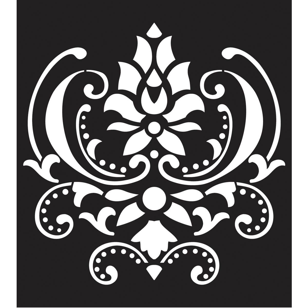 FolkArt ® Painting Stencils - Large - Damask