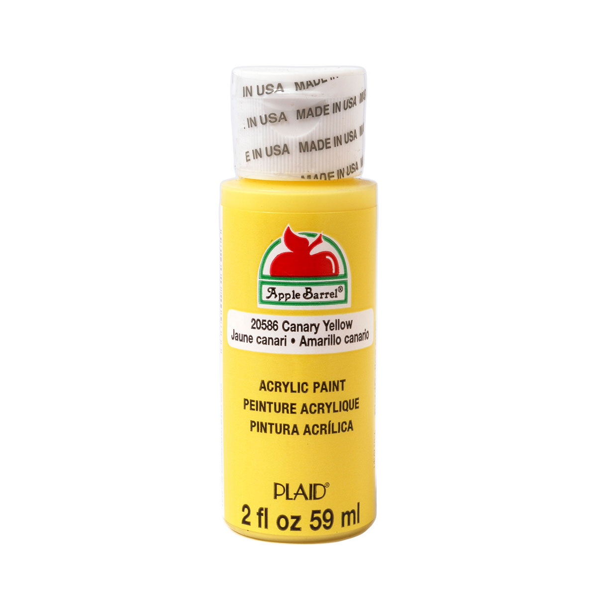 Apple Barrel ® Colors - Canary Yellow, 2 oz.