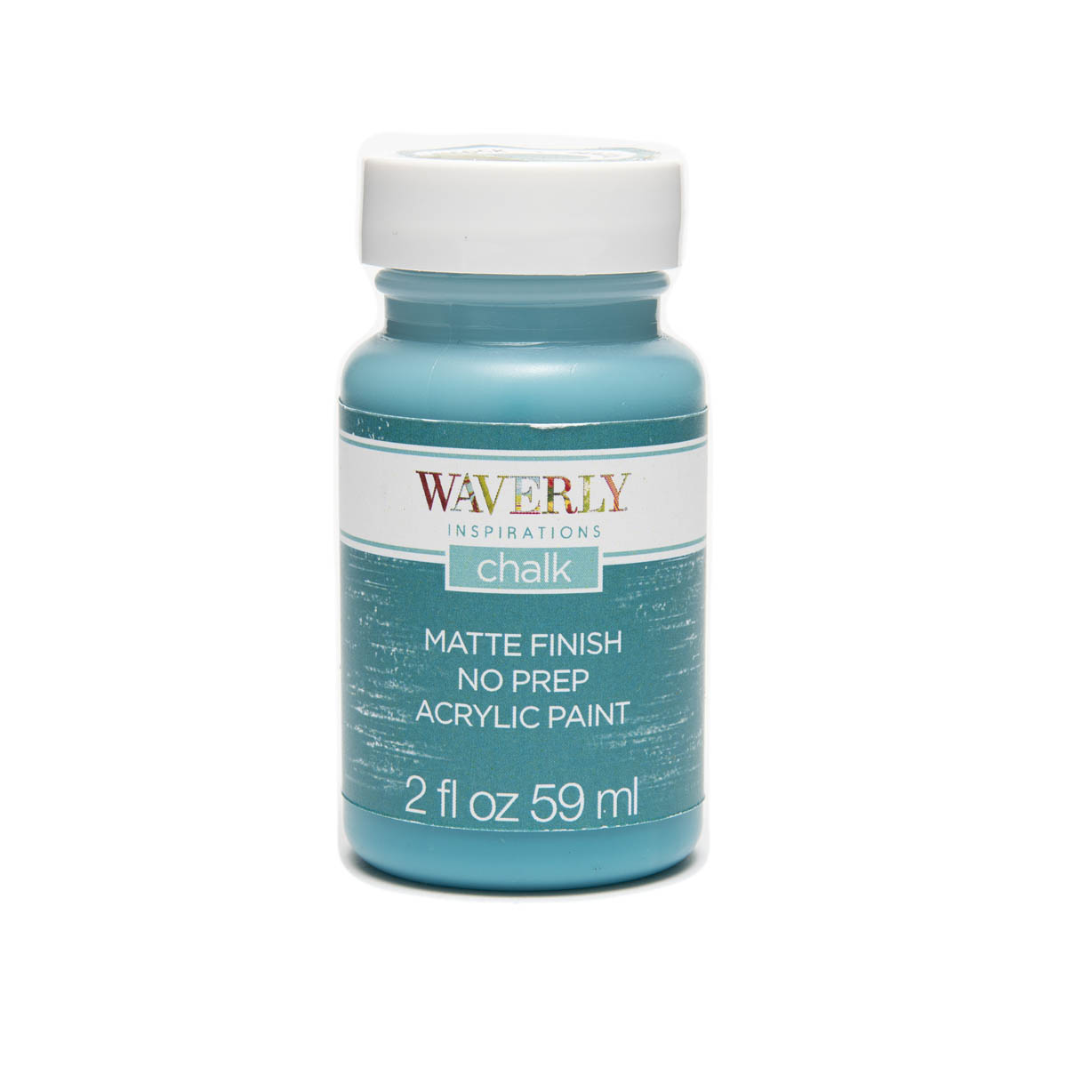 Waverly ® Inspirations Chalk Finish Acrylic Paint - Peacock, 2 oz. - 60890E