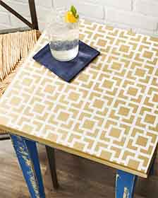 Geometric Small Table