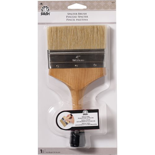 FolkArt ® Painting Tools - Spalter Brush 4""