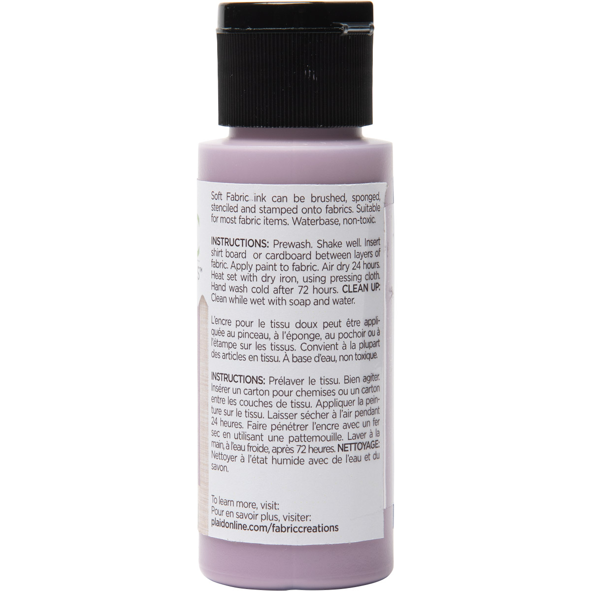 Fabric Creations™ Soft Fabric Inks - Sunwashed Lilac, 2 oz.