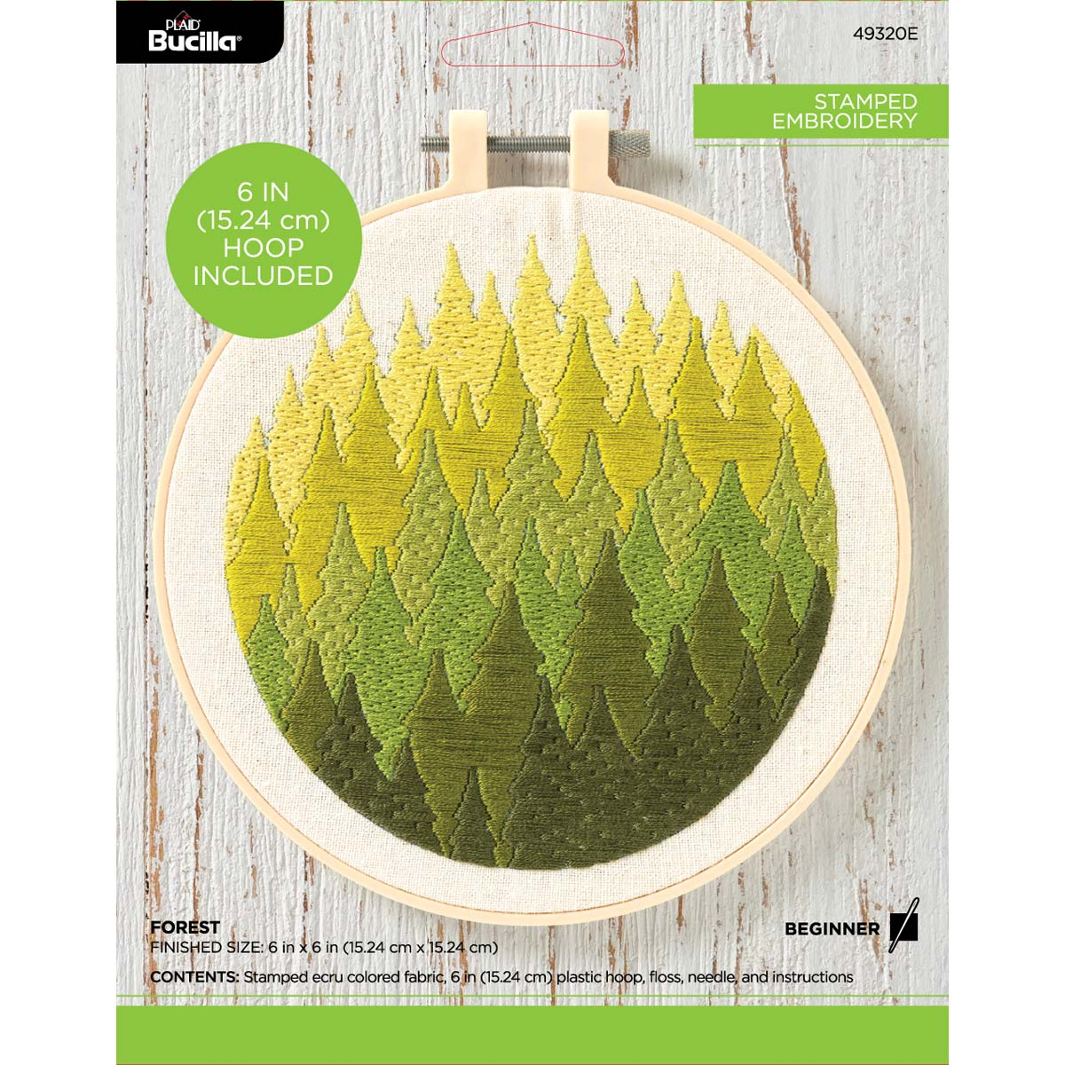 Bucilla ® Stamped Embroidery - Forest - 49320E
