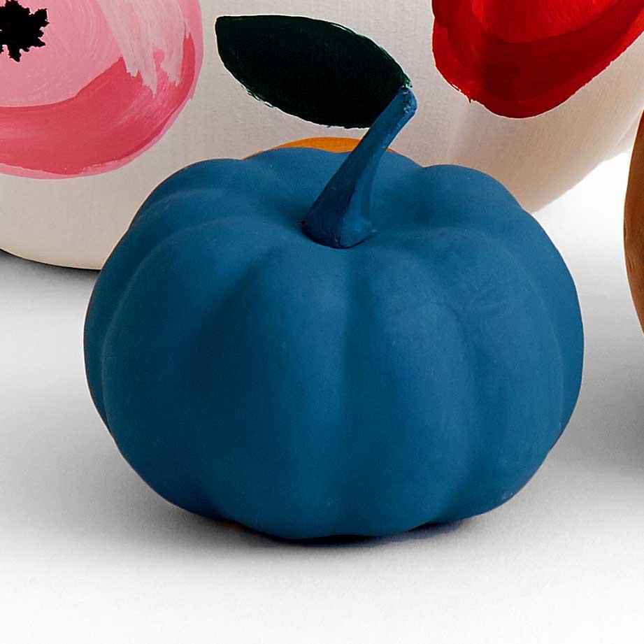 Let's Paint Live Floral Pumpkin
