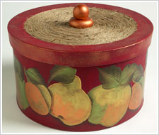 Decorative Fruit Box