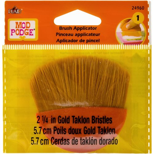 "Mod Podge ® 2-1/4"" Brush Applicator, Gold Taklon - 24960"