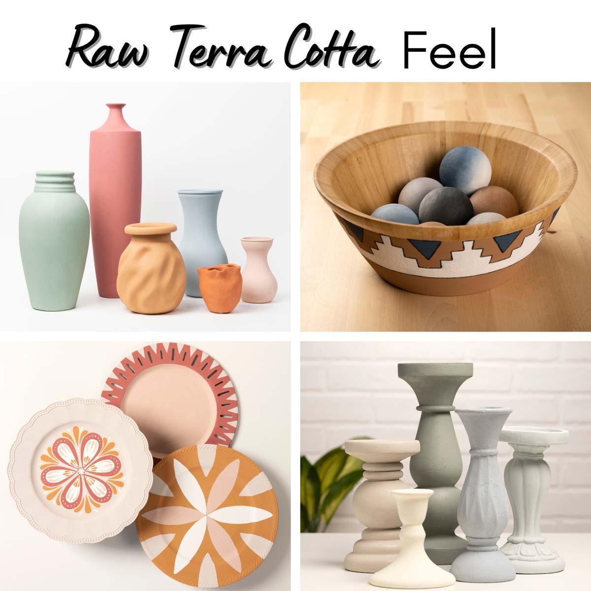 FolkArt ® Terra Cotta™ Acrylic Paint - Obsidian, 2 oz. - 7030