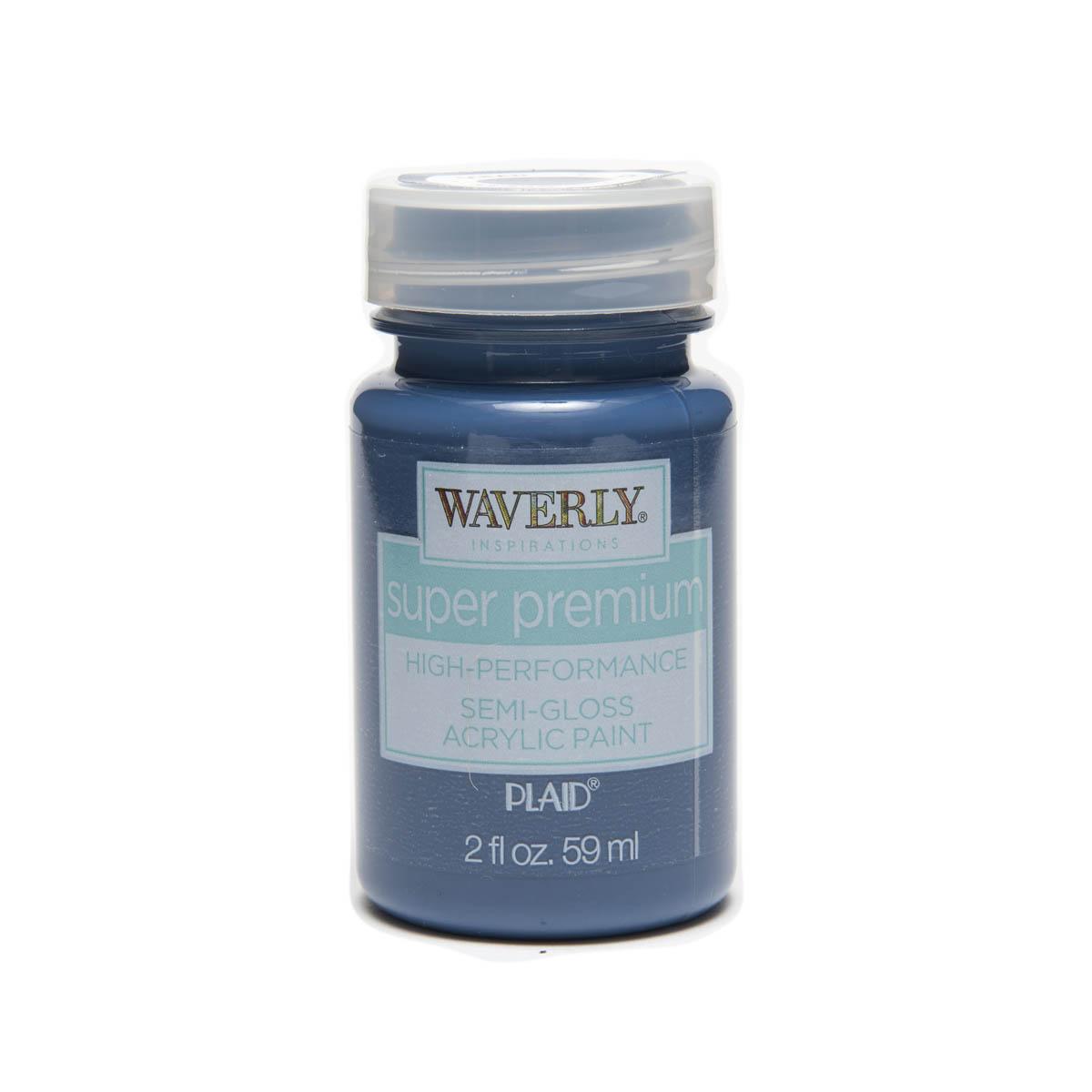 Waverly ® Inspirations Super Premium Semi-Gloss Acrylic Paint - Ocean, 2 oz.