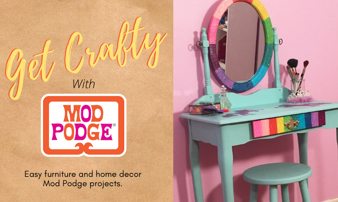 Get Crafty with Mod Podge - Part 7