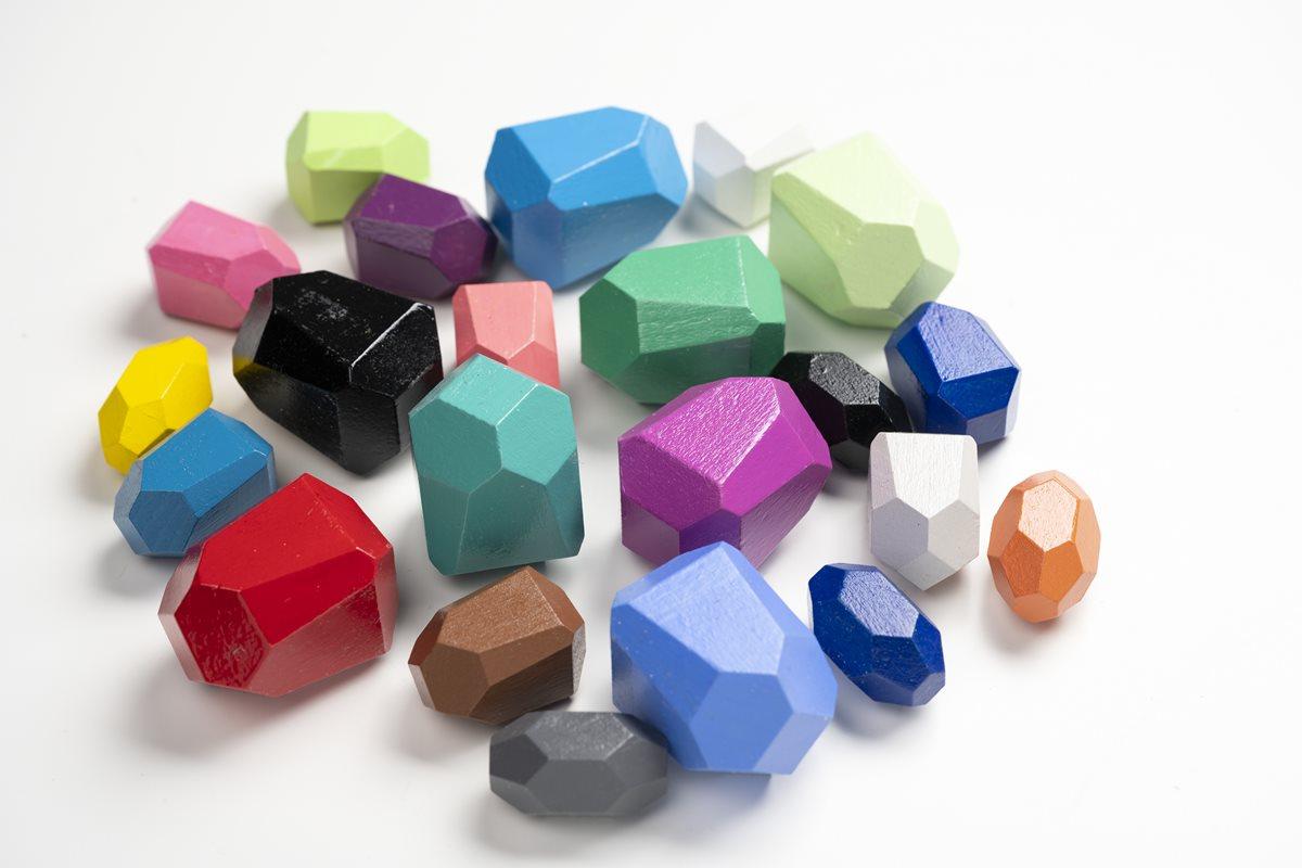 FolkArt Glossy Building Blocks