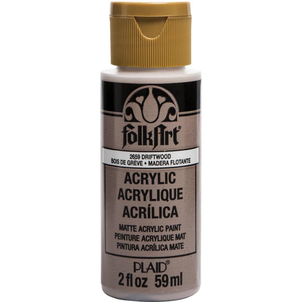 FolkArt ® Acrylic Colors - Driftwood, 2 oz.