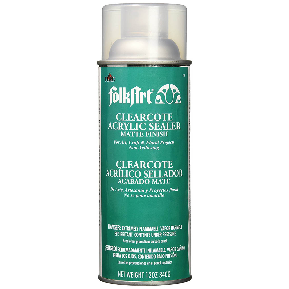 FolkArt ® Finishes - Clearcote™ Aerosol Acrylic Sealer - Matte, 12 oz.