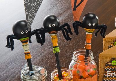 Spider Candy Jars